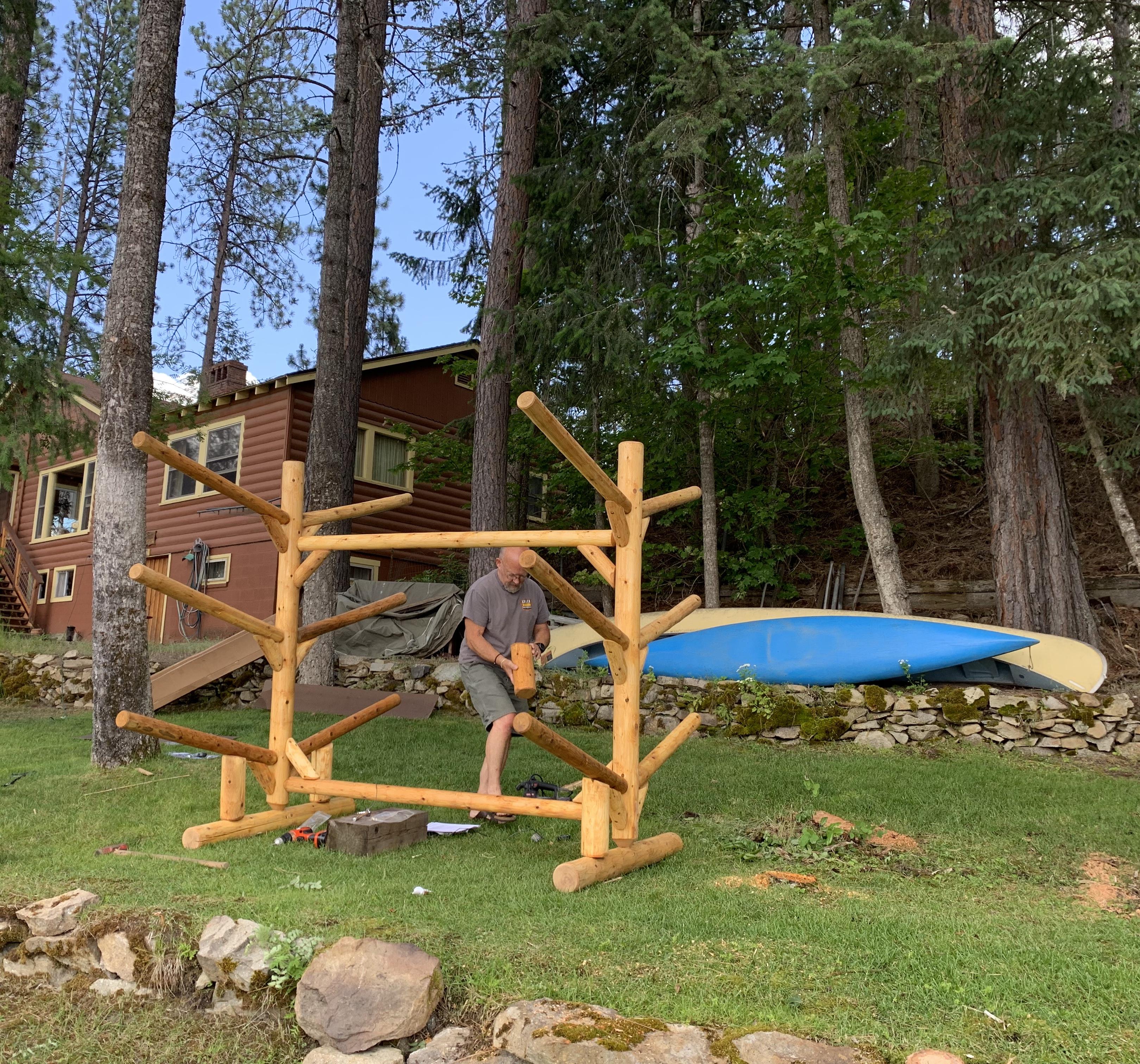6 SUP And Kayak Storage Rack