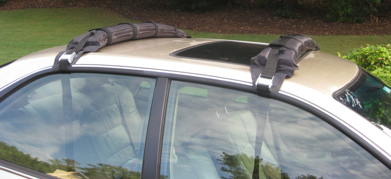 Paddle Board Car Racks >> Self Inflating Sup Roof Rack Paddleboard Car Rack