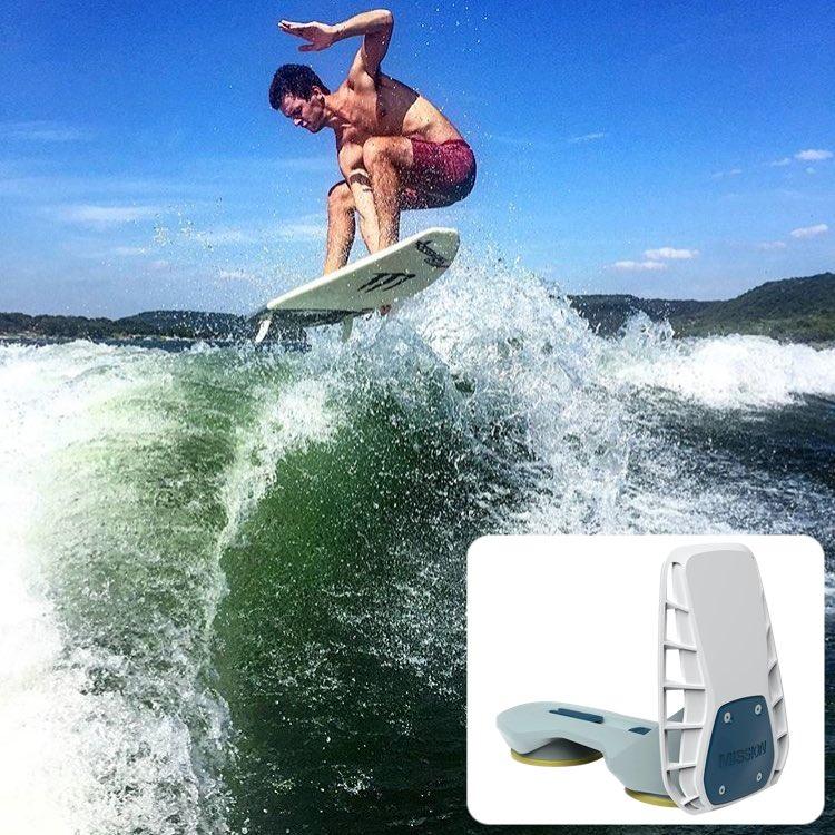 Mission Delta 2 0 Wakesurf Shaper | Suction Mount Boat Wave Maker