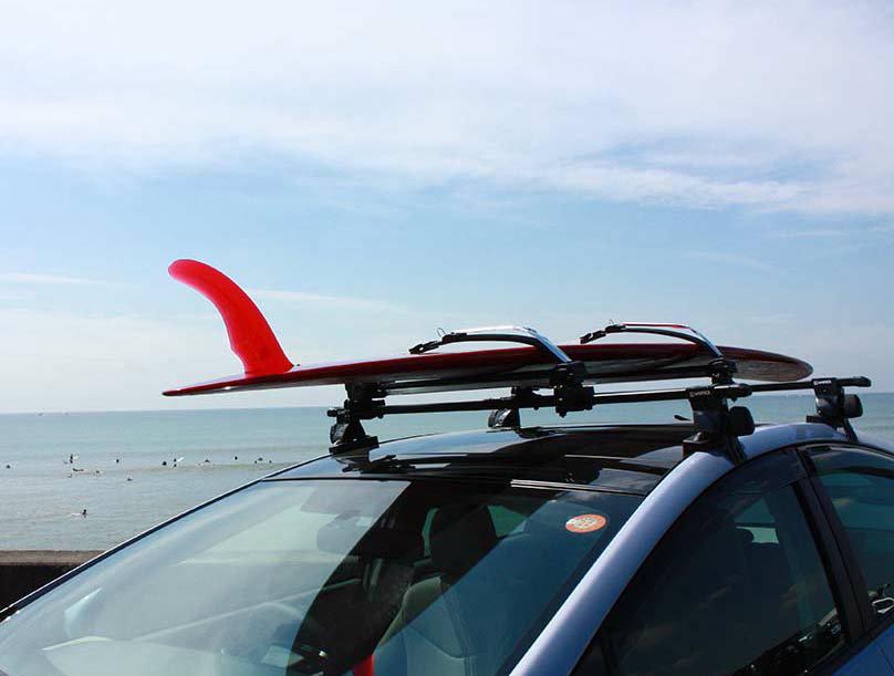 Locking Surfboard Roof Rack System Inno Boardlocker
