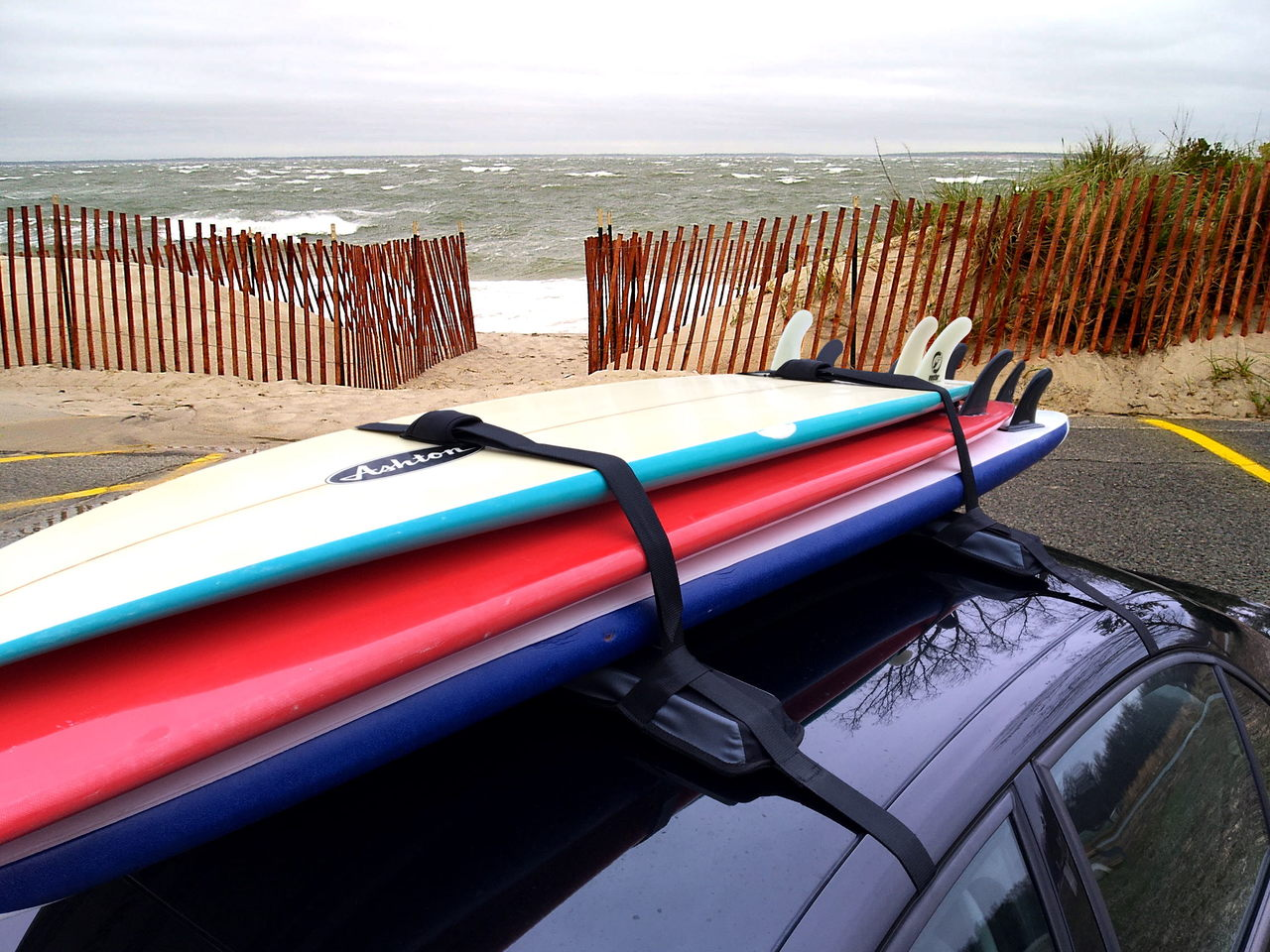 SUP & Surfboard Car Rack   Removable & Universal ...