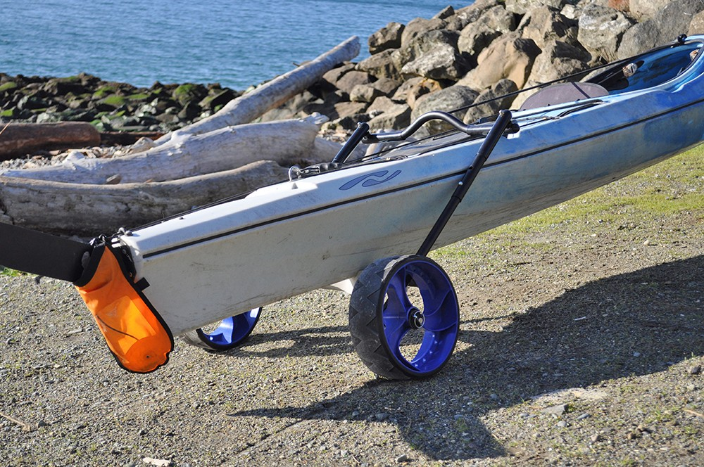 2a787906c5fc Pull Behind Kayak and Canoe Dolly | End Cart