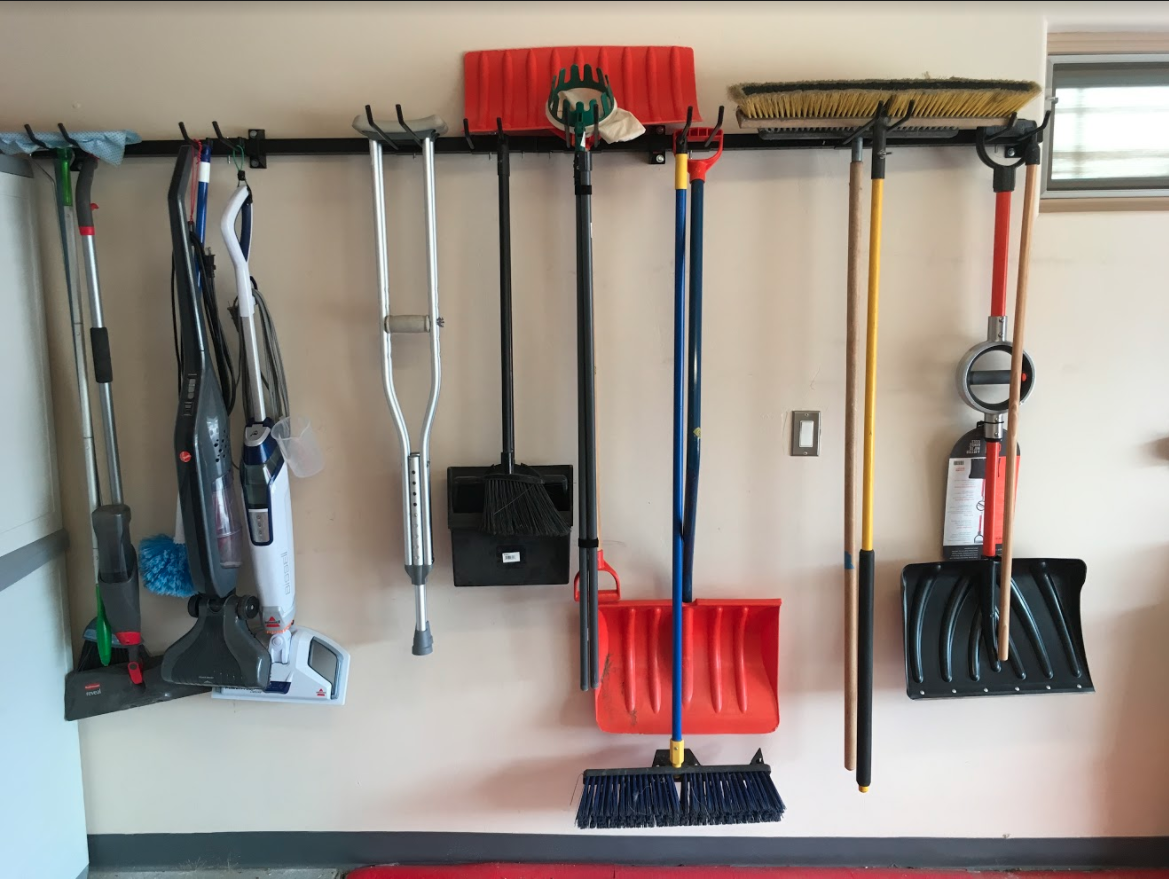 Omni Tool Storage Rack Max Wall Mounted Tools Home