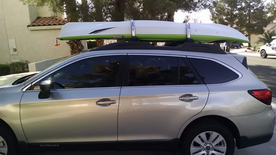 Inno Roof Rack >> Locking Kayak Roof Rack Inno 446
