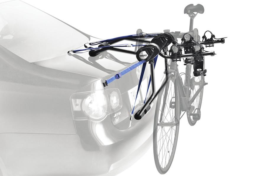 Trunk Mount Bike Rack >> Thule Passage 2 Trunk Mount Bike Rack Storeyourboard Com
