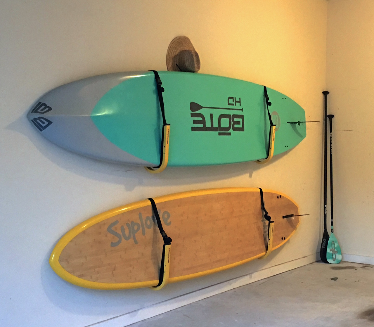 Paddle Board Rack >> Suspension Sup Wall Rack