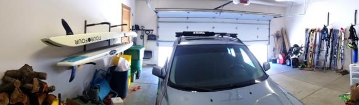 Garage Paddle Board Storage Rack