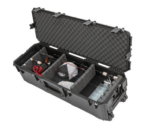 Waterproof Fishing Rod Hard Case Military Grade Rolling Travel Case Storeyourboard Com