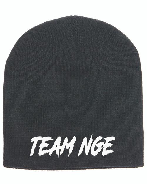NGE Black Beanie
