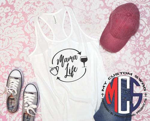 Mama Life Tank Top