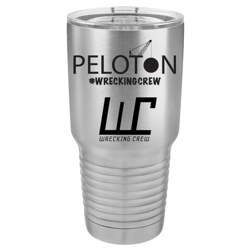 Perfect for keeping all beverages cool,  this 30 oz Stainless Steel Tumbler, will also keep one from heading back to make multiple trips to refill, save all that energy for eating and trips to the pisser.