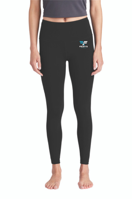 Whether you are heading to the gym, heading out for the day or relaxing at home, these leggings will keep you comfortable all day! These moisture-wicking leggings have a higher rise and features an integrated pocket for cell phones, keys or small essentials.  8.3-ounce, 87/13 poly/spandex jersey Tag-free label Flatlock seams for comfort High rise Integrated cell phone pocket on right side 7/8 length