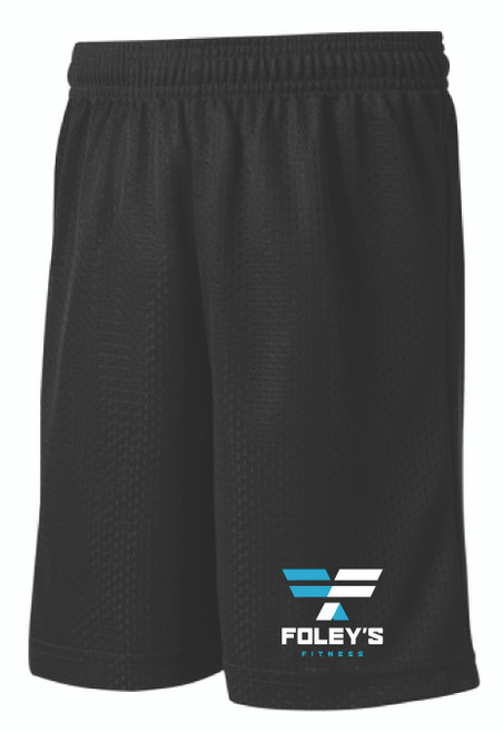 These moisture-wicking shorts have a classic look of open-hole mesh combined with PosiCharge technology for equally enduring color. Perfect for working out, on the go or lounging around!  3.6-ounce, 100% polyester mesh with PosiCharge technology Removable tag for comfort and relabeling    Elastic waistband Continuous loop drawcord 9-inch inseam Available in Men's sizes XS-4X