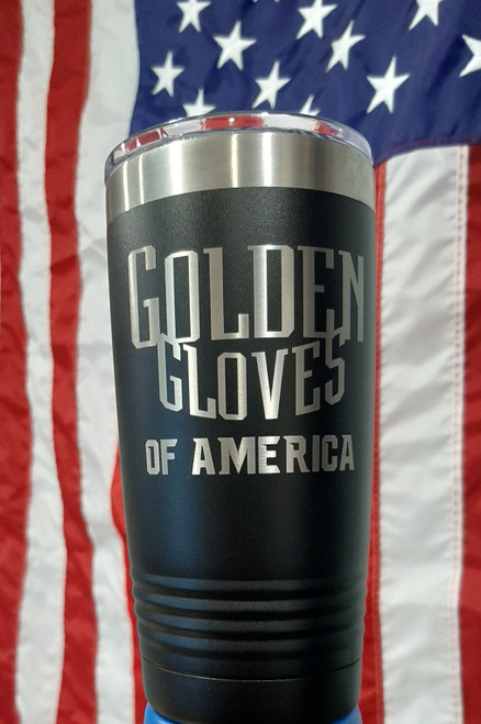 Golden Gloves 20oz Tumbler(4 color Choices)
