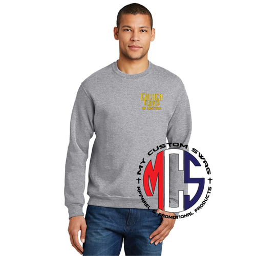 Golden Gloves Crewneck Embroidered Sweatshirt- 5 color Choices