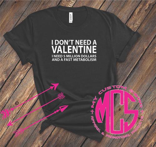 I Don't Need A Valentine