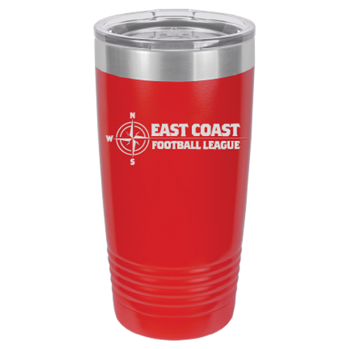 "20 oz Tumbler to keep your ""after game beverage,"" nice and cool."