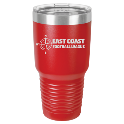 ECFL 30 oz Red Tumbler  Free Shipping
