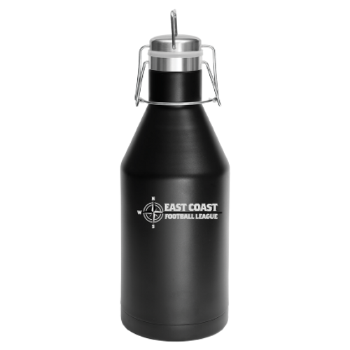 Personalized Grown Folks Only 64 oz Growler Free Shipping