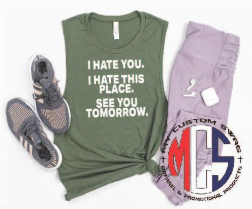 Funny gym shirt / Workout shirt / Funny Muscle Shirt for Women