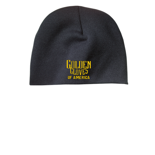 Golden Gloves Beanie Embroidered- 3 Color Choices
