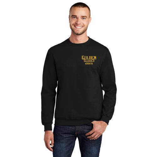 Golden Gloves Sports Crewneck Sweatshirt (black)