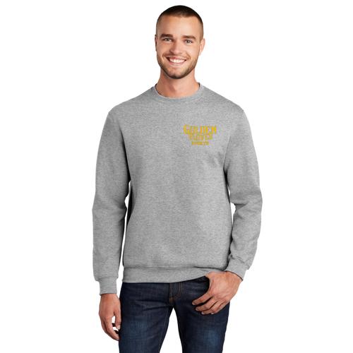 Golden Gloves Sports Crewneck Sweatshirt (gray)