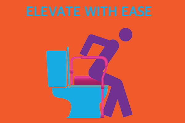 Eevate with ease - toiet risers