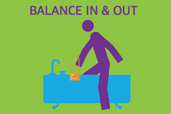 Balance in and out - Bath safety and accessories