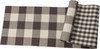 Reversible Cotton Buffalo Check Table Runner