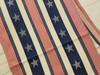 Set of TWO Stars & Stripes Cotton Table Runners - A