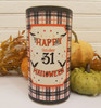 "Hocus Pocus/Happy Halloween 6"" Pillar LED Battery Operated Pillar Candle"