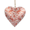Scandinavian Nordic Style Puffy Heart Christmas Ornament