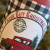 """Christmas Tree Farm 6"""" LED Battery Pillar Candle with Red Truck - C"""