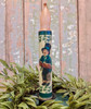 St. Patrick's Day Little Boy LED Battery Operated Taper Candle - A