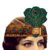 Birthday Magic Mailable Wearable Paper Peacock Tiara Greeting Card - A