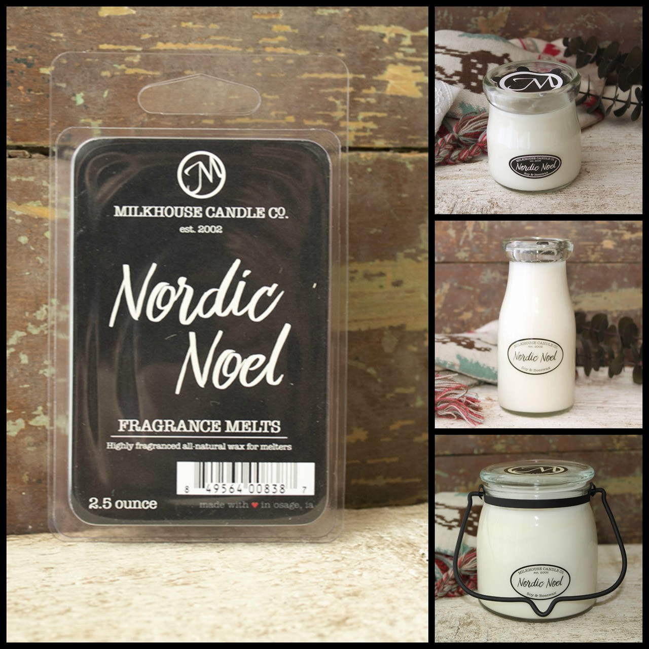 Milkhouse Candle Company Candle - Nordic Noel - Choice of Size