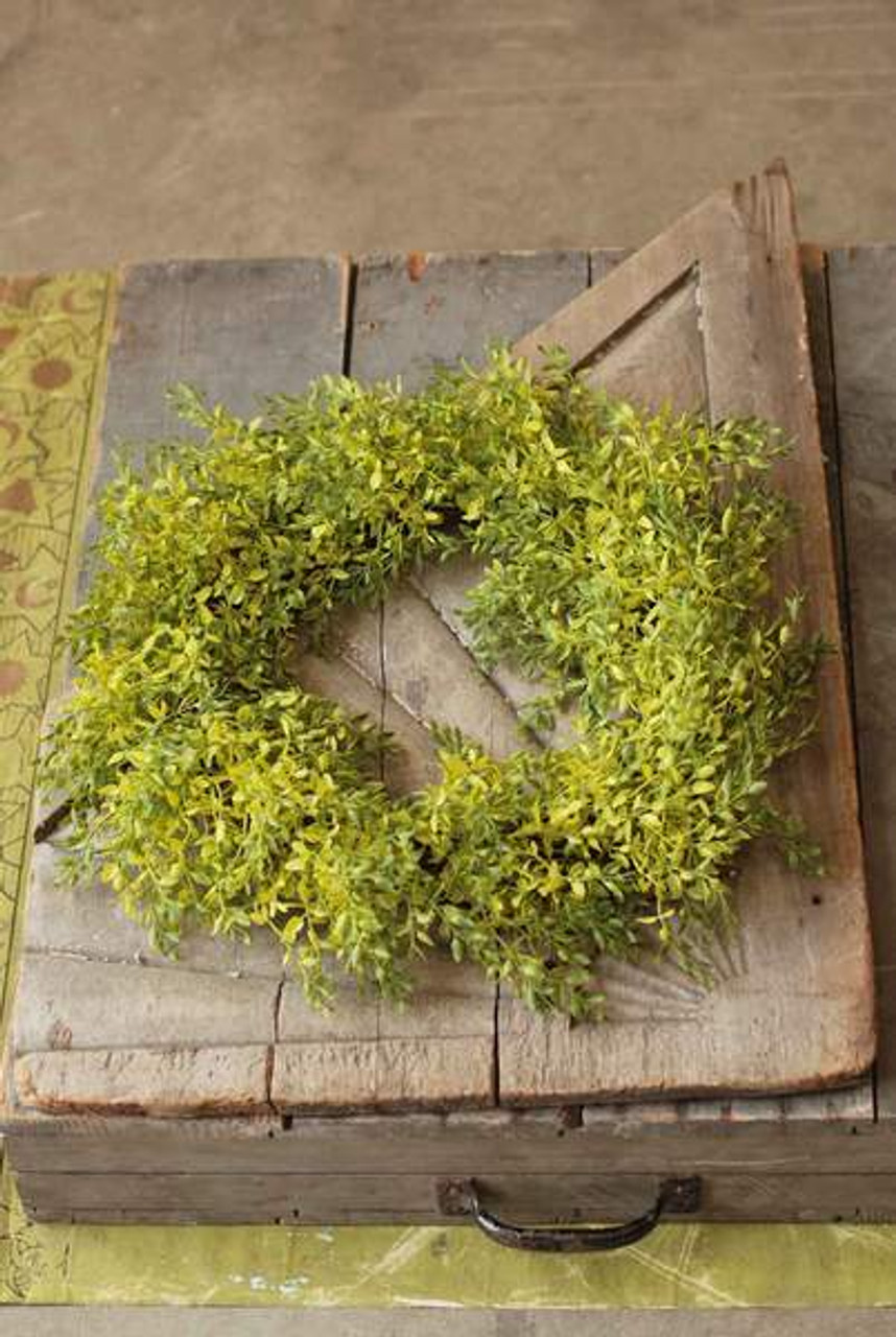 Lemon Beauty Spring Green Wreath