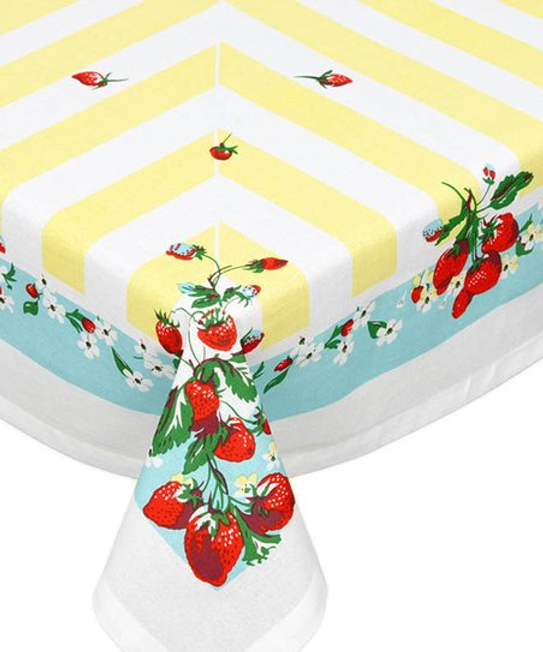 Strawberry Lane Vintage-Inspired Tablecloth