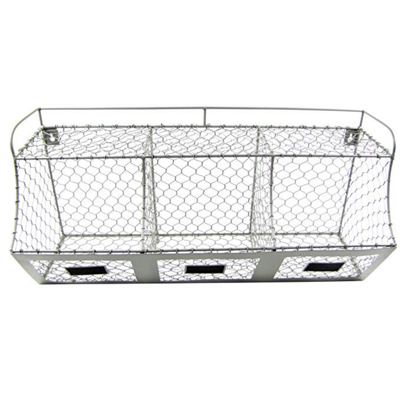 Rustic Farmhouse Chicken Wire Multi Bin