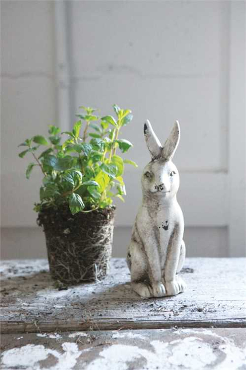 Sweet Shabby Ceramic Rabbit