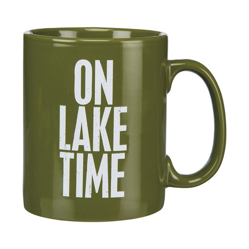 ON LAKE TIME 20oz Ceramic Mug