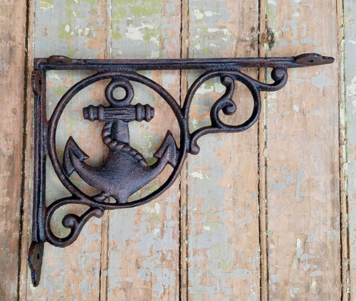Cast Iron Anchor Shelf Bracket