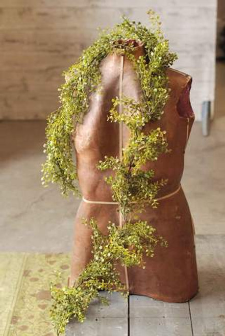 Realistic Faux Baby Grass Garland 6'