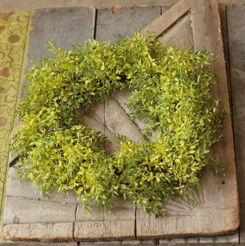 Lush Lemon Beauty Spring Green Wreath
