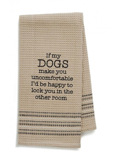 Happy Dog Kitchen or Bar Towel