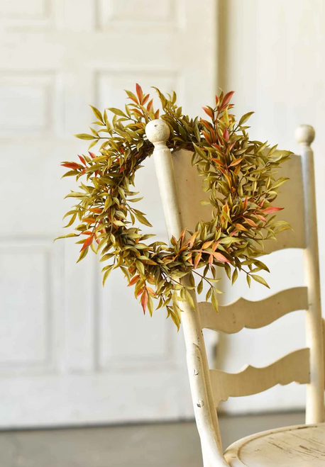 "12"" Smilax Candle Ring or Wreath"