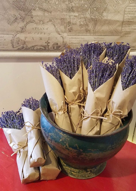 Natural French Lavender in Paper