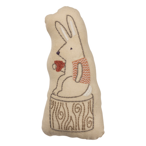 Sweet Cotton & Linen Softie Rabbit Figure