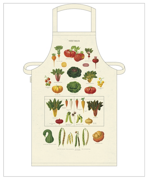 Farmhouse Kitchen Apron - Fresh Vegetables